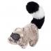 75307 Игрушка для собак енот с пищалкой