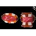 85765 Мягкая игрушка с пищалкой в форме мясной косточки