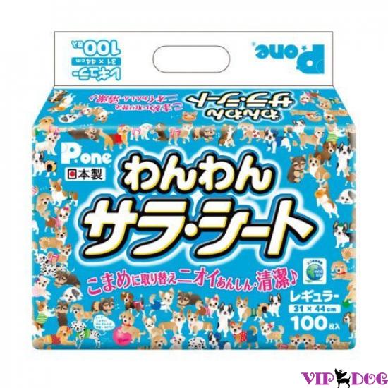 648 Пеленки P/One для ежедневного использования. Средние (100 шт.)