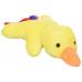 DTFW-01AH Плюшевая воздушная игрушка в виде домашней утки со встроенной пищалкой для собак