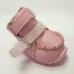 "302 W Ботинки ""Эко кожа"" на меху розовые"