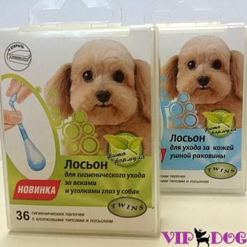 003 Лосьон д/собак (ушные раковины), 36 палочек типсами