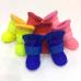 407-X Резиновые сапоги на флисе для собак