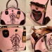 Сумка-переноска - Juicy Couture - Розовая с гербом