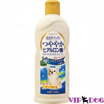 879408 Шампуеь с кокосовым маслом и гиалуроном для сияющей шерсти собак. Букетный аромат