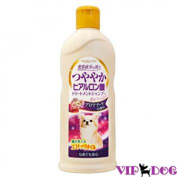 879309 Шампунь с кокосовым маслом и гиалуроном для сияющей шерсти собак. Цветочный аромат