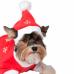 """1540 Новогодний колпак для собаки """"Дед Мороз"""""""