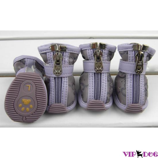 Ботинки Gucci фиолетовые