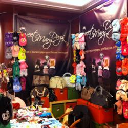 10-11 сентября 2011года - интернет магазин одежды для маленьких собак VIP-DOG, впервые принял участие в Йорк Шоу.