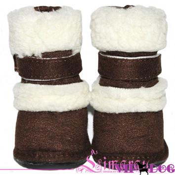 """Ботинки """"New UGG"""" коричневые"""