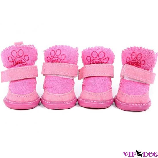 Угги для собак «Розовые»
