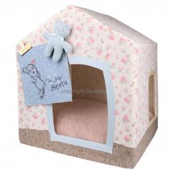 Уютный домик для собачки: сделай жизнь питомца комфортной.
