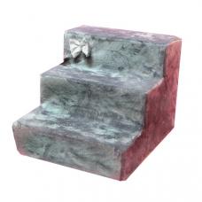 Лестница для собак «Бант» серая