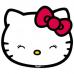 """6028 Миска """"Hello Kitty""""двойная"""