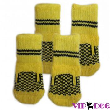 Носочки , жёлтые
