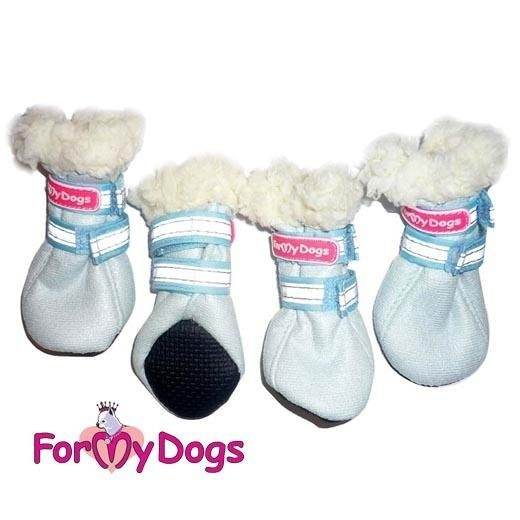 Ботинки для собак своими руками фото